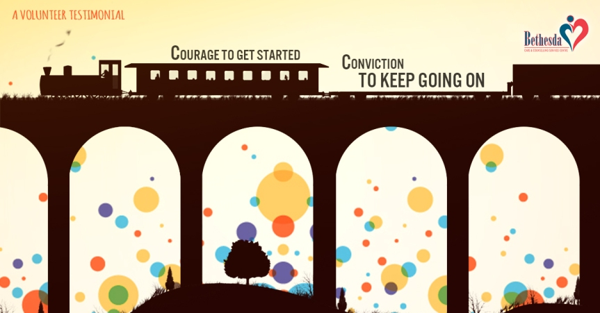 Courage to Get Started. Conviction to Keep Going.